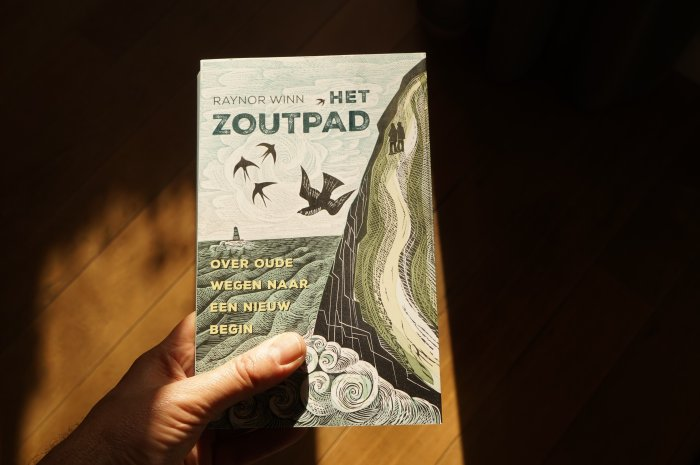De hand van de natuur - South west coast path - het zoutpad