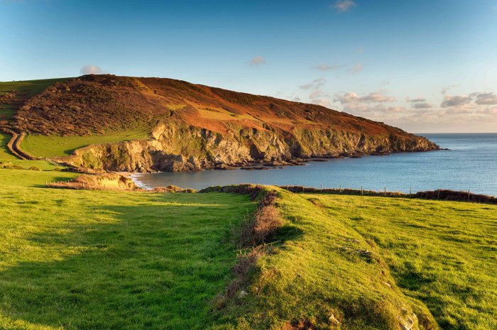 wandelroute - south west coast path